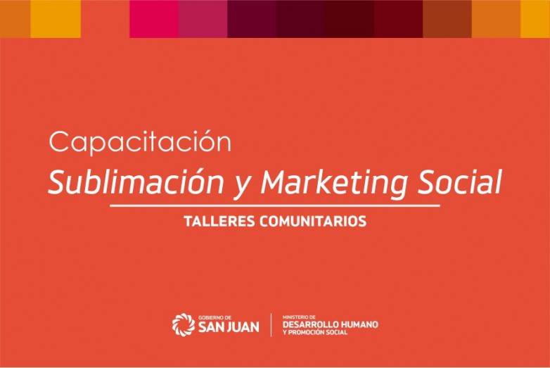 Capacitación en Marketing Social y Sublimación para jóvenes emprendedores